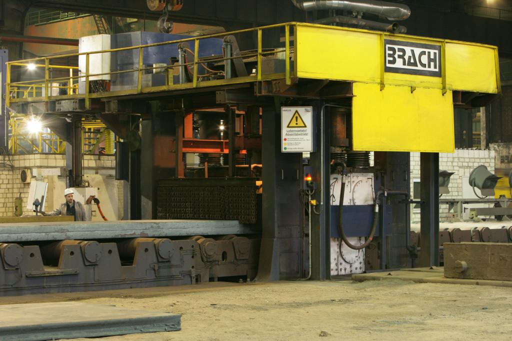 Heissrollenrichtanlage bis 250mm (Hot roller straightening machine up to 250mm)